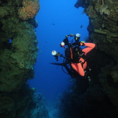 Menjangan under water caves