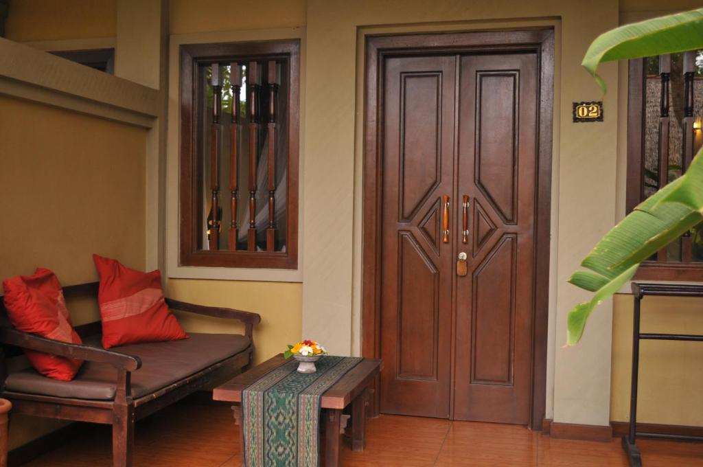 Standard double room porch