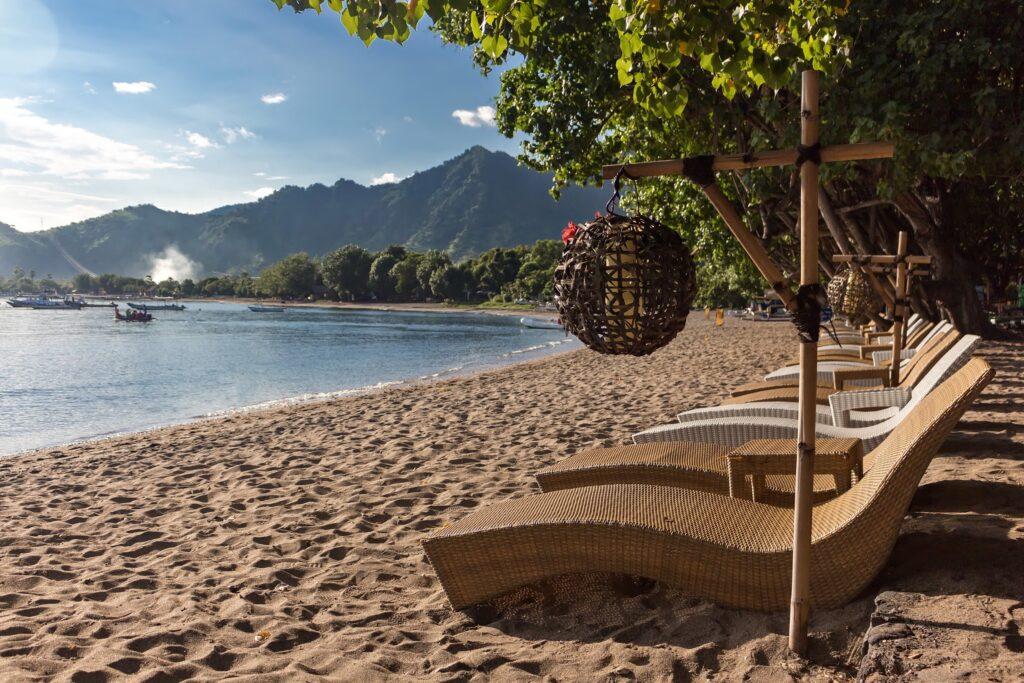 beach Taman Sari and Bali Diving Academy