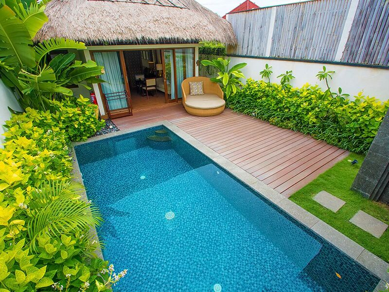 private pool Lembongan Beach club and resort
