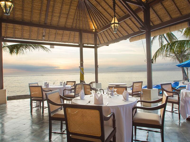 restaurant Lembongan beach club and resort